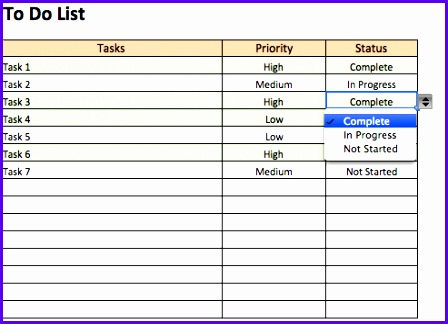 Example Excel to Do Templates Nmbph Unique Free to Do List Templates In Excel 493353