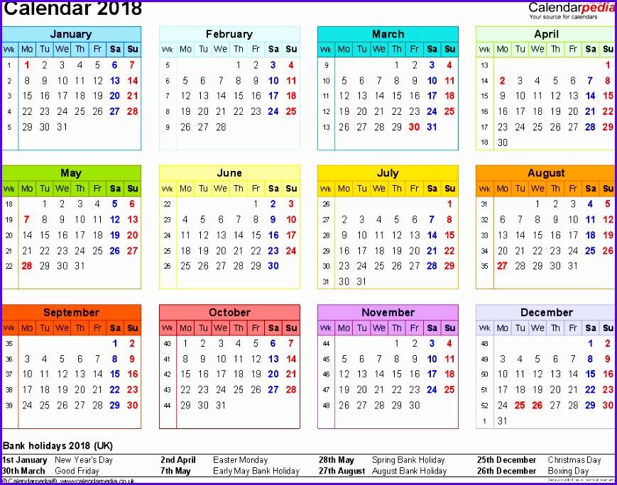 weekly calendar excel calendar template excel 869684