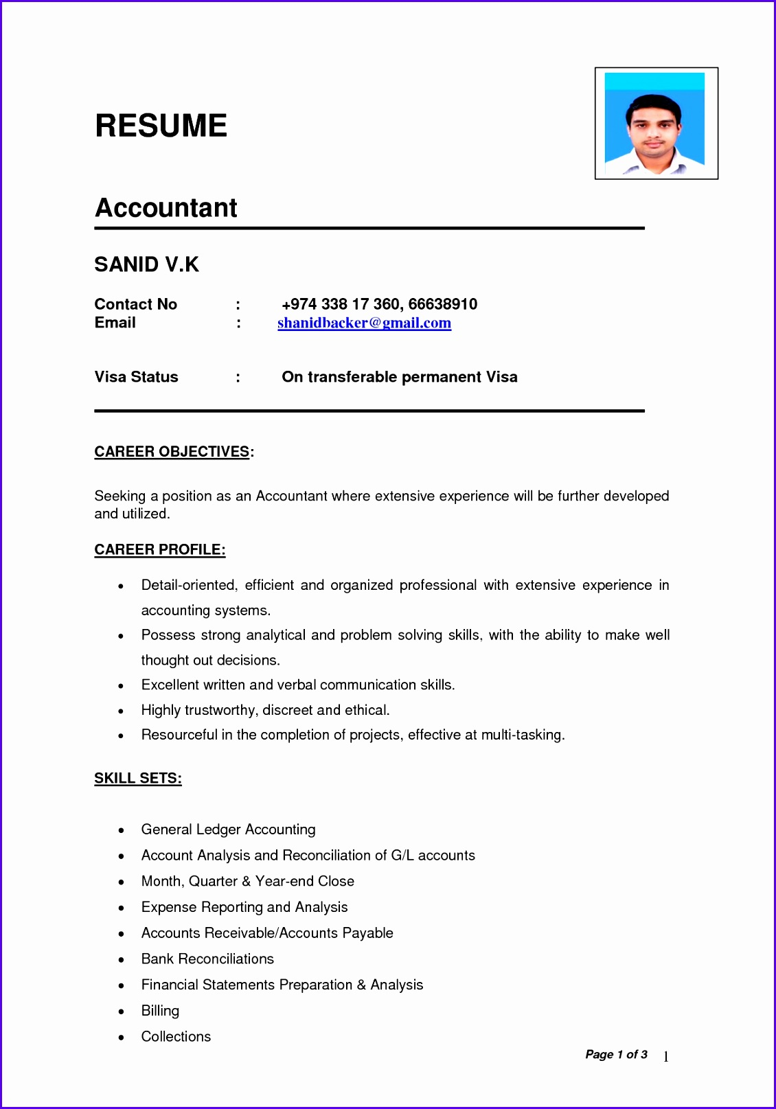 Example Fresh Statement Of Account Template Fxeut Awesome Bank Reconciliation Resume Sample Luxury Accounts Payable Clerk 12421756