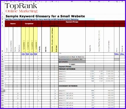 keyword glossary optimizebook12 409352