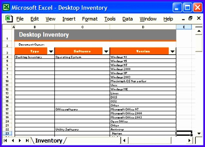 inventory excel template 422302