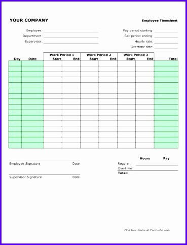 Example Monthly Timesheet Template Excel Pkfhd Unique Free Semi Monthly Timesheet Portrait From formville 406525