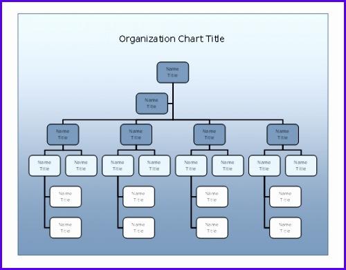 pany organizational chart Blue Gra nt design Templates Free Download 500391