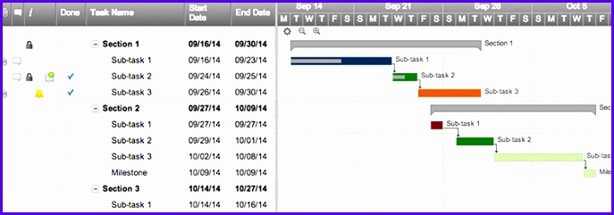 Example Project Plan Template Excel Gantt Lres4 Luxury Line Gantt Chart software 755262