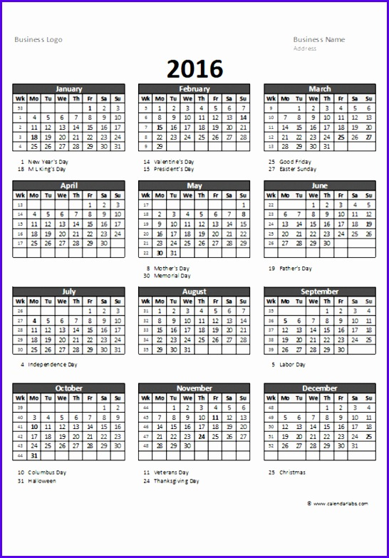 Quarterly Calendar Template Excel  Resume Ideas  NamanasaCom