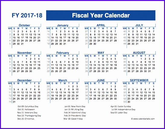 2017 2018 Fiscal Planner US 546426