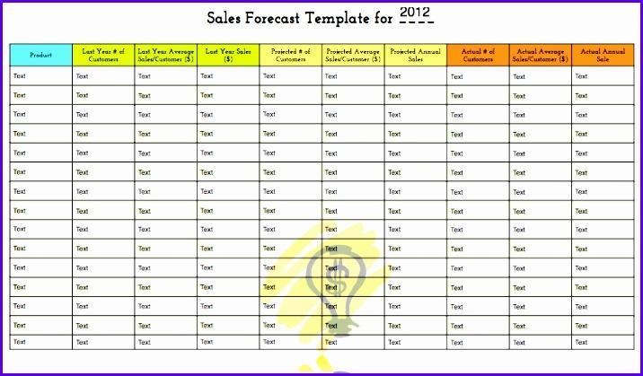 forecast templates 716419