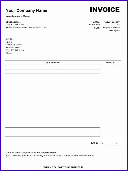 Microsoft Invoice Template Uk Free Printable Invoice Template Uk Invoice Template Mac 524701