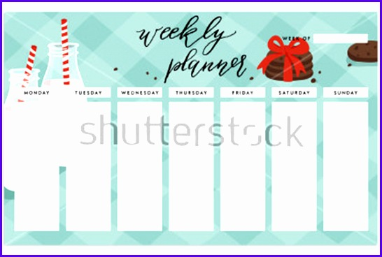 Example Week Planner Template Excel Gqsld New 27 Weekly Planner Templates Free Word Excel Pdf formats 600400