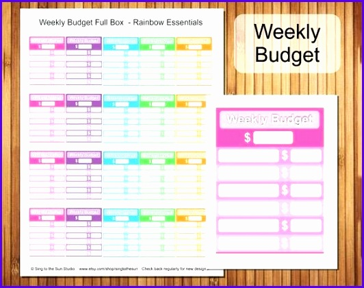 Example Weekly Budget Excel Template Jfgux Beautiful Weekly Bud Bud Template Free Word Excel format Download 585457