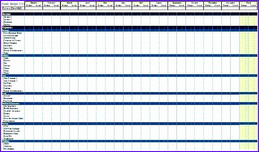 weekly bud template personal bud template excel excel template personal bud monthly bud template excel personal 829487