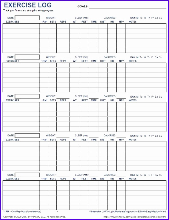 9 workout excel template exceltemplates exceltemplates for Bodybuilding excel template