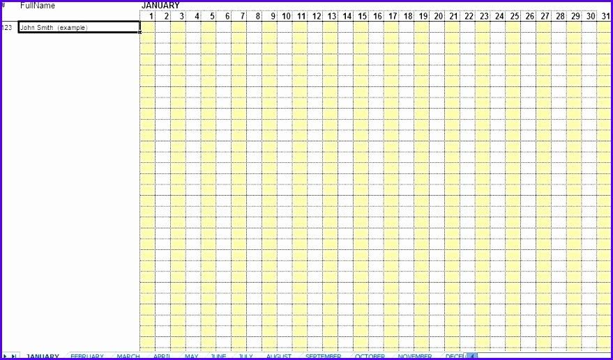 attendance sheet employee attendance sheet excel monthly attendance sheet template excel 879517