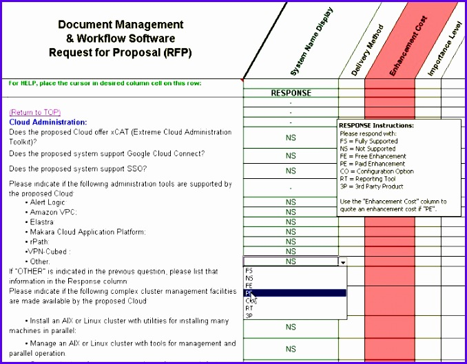 Document Management Excel Template Iqska Awesome Dms Evaluation & Selection for Document Management System 678529