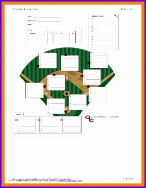 baseball lineup template baseball lineup template 289373