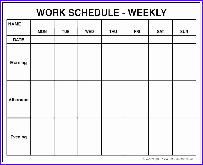 how to get a blank calender on excel