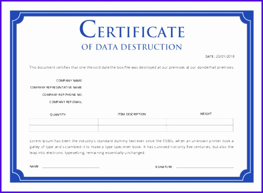 excellence award template