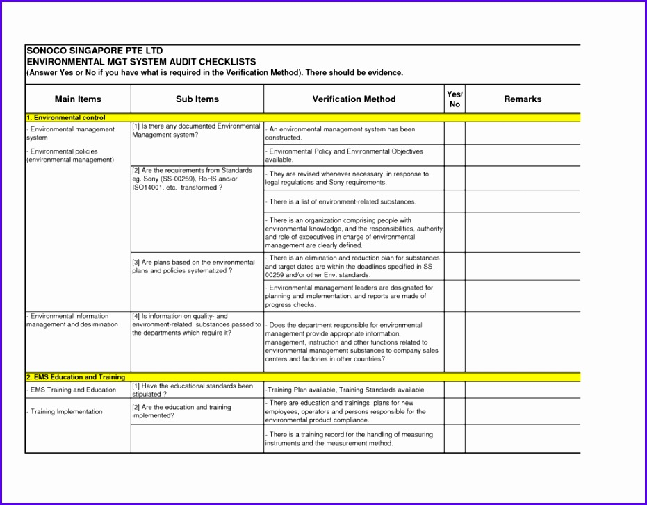 Agreement Audit Forms Templates Personal Loan Document Template Printable Internal Sop Example Excel Quality Checklist Form Word Report Summary Findings 931727