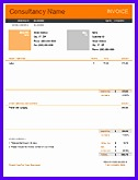 Consultant Invoice Template 126165