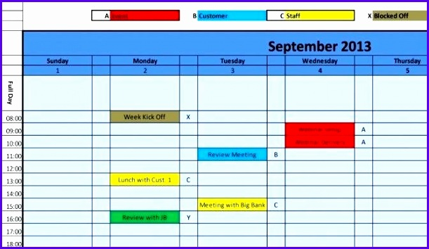 excel calendar 2017 template excel monthly calendar schedule template blank design daily view 2 excel 611354