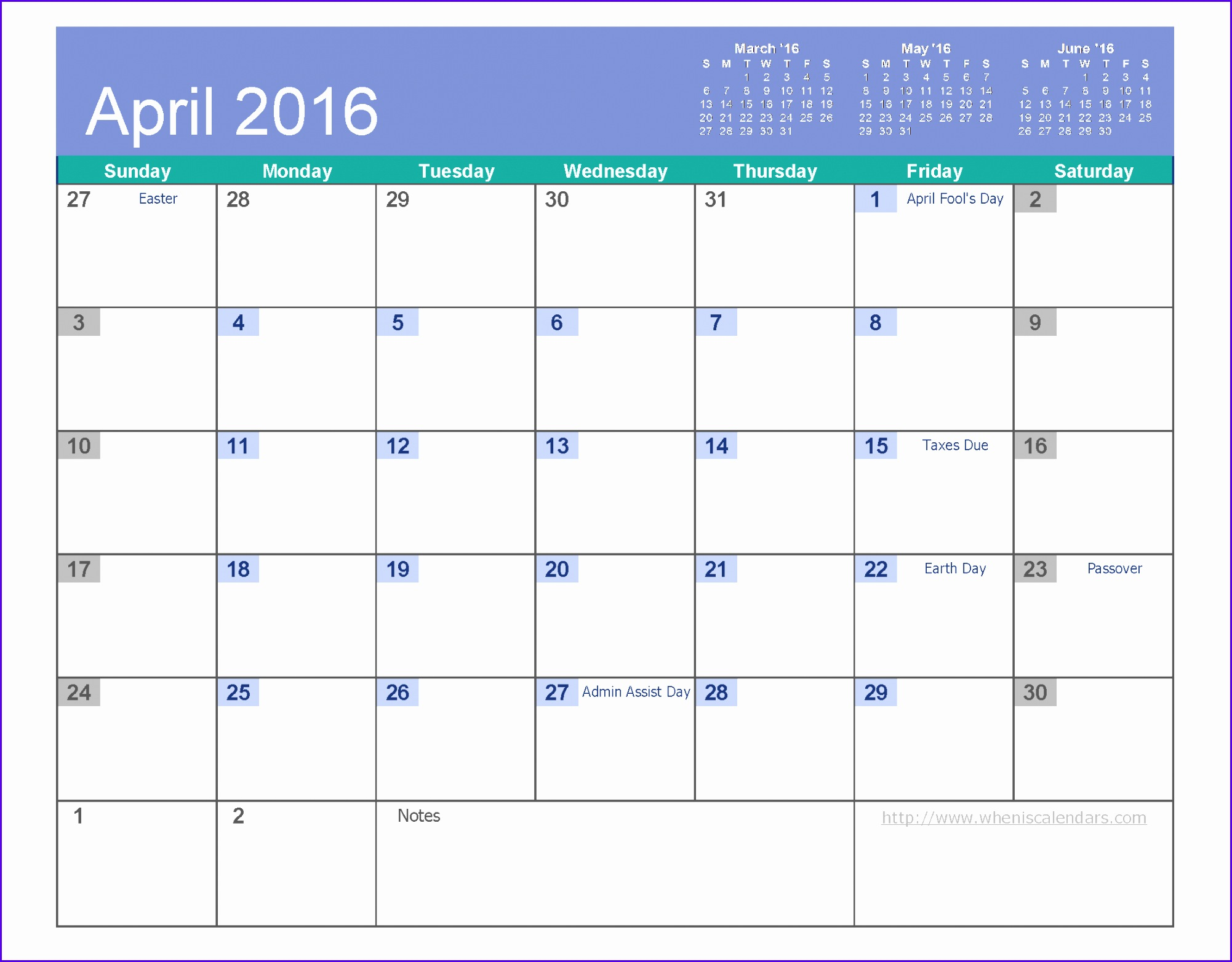 Examples Download Excel Calendar Template Rhunk Awesome April 2016 Calendar Free Printable 6 Templates Pdf Excel 22001701