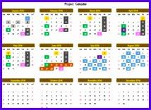 2016 Yearly Calendar Event Calendar Maker Excel Template 214156