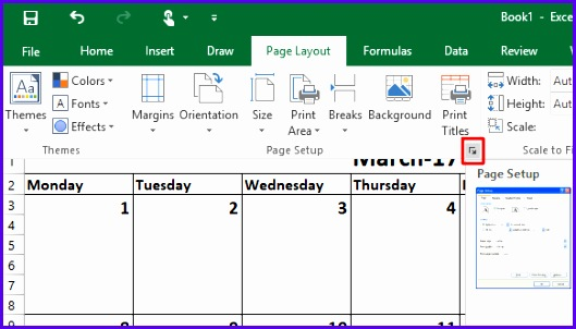 How to Make a Calendar Template in Excel Excel Calendar Template 7 529302