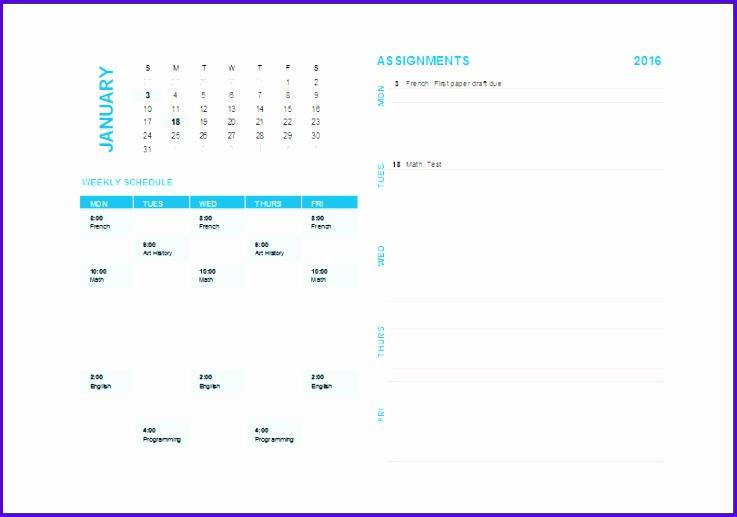 Weekly Task Planning Calendar 737517
