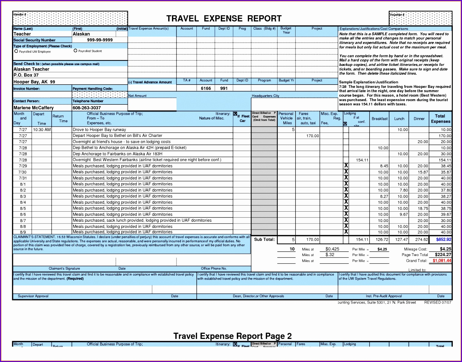 Expense report template Excel excel expense report form template Car 15101182