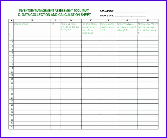 Examples Excel form Templates Free Fggay Elegant Inventory Checklist Template Excel Property Inventory form Free 585480