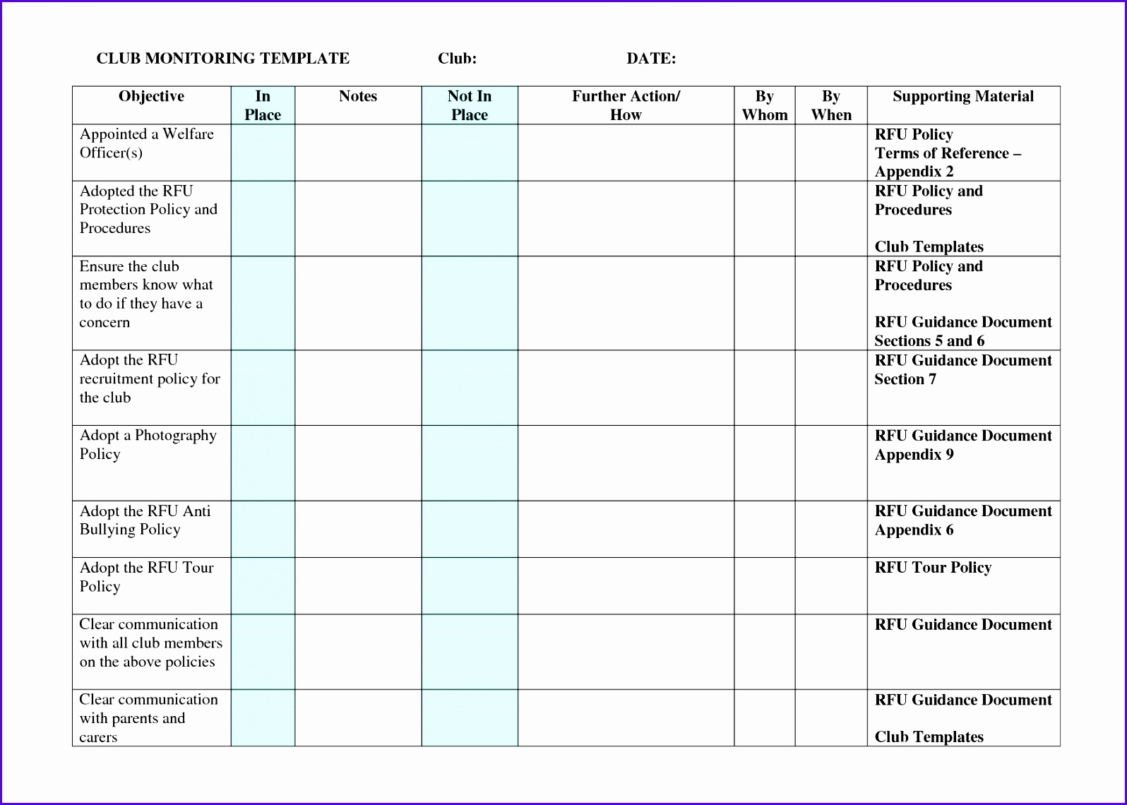 9 Excel Implementation Plan Template - ExcelTemplates - ExcelTemplates