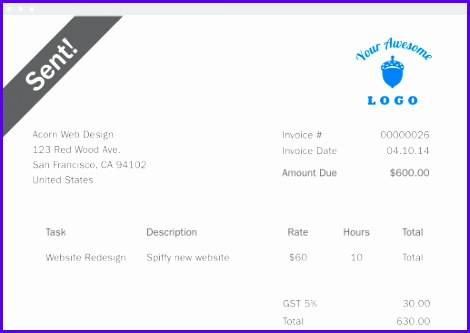 Examples Excel Invoice Template Tdeiv Unique Free Invoice Template Invoice Maker 517363
