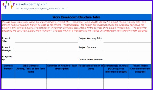 wbs excel template 538316