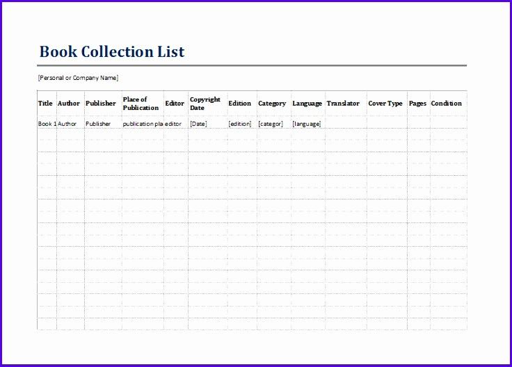Book inventory list 736528