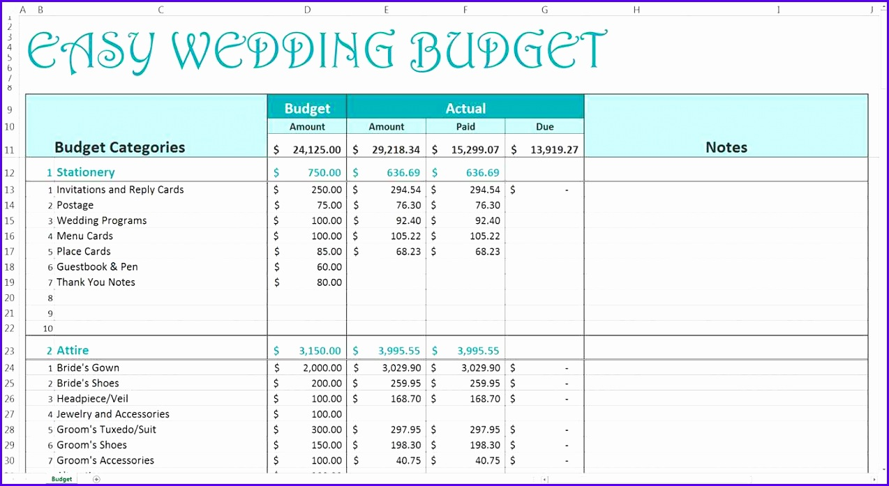 Monthly And Yearly Bud Spreadsheet Excel Template And Excel Bud Tracker Spreadsheet Template 1274697
