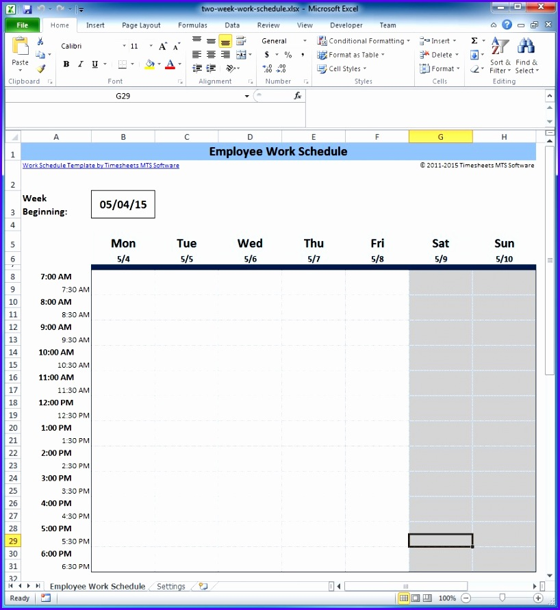 Examples Schedule Template For Excel Rpbvk Unique Free Employee And