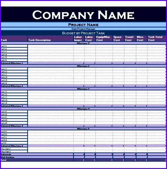 excel form templates 2010 Collection of Excel Tutorials and Templates for Project Managers 546552