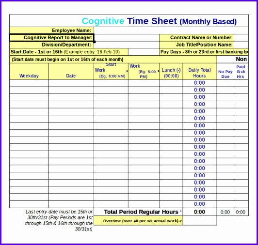 Examples Timesheet Excel Template Oluer Fresh Microsoft Excel Timesheet Template Kctati Excel Timesheet Template 585550