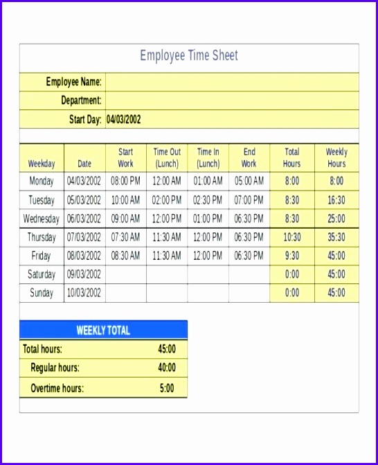 excell time sheet excel template excel bi weekly timesheet template