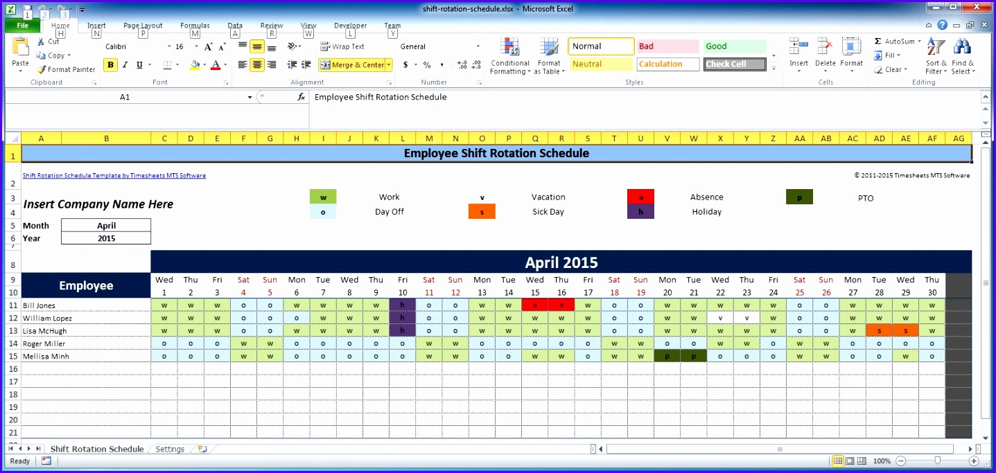 Examples Timetable Excel Template Gfsba New Free Employee and Shift Schedule Templates 1580743