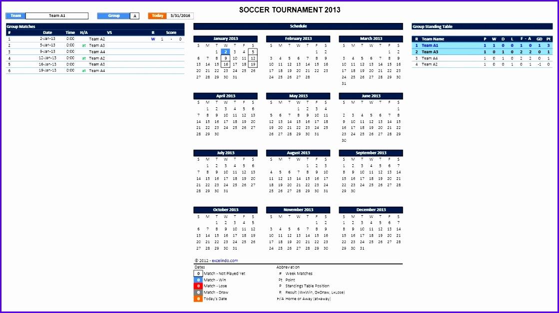 Soccer Tournament Maker for Excel 1119627