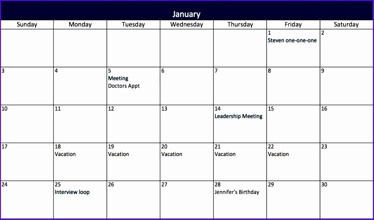 31 day calendar template 1254736