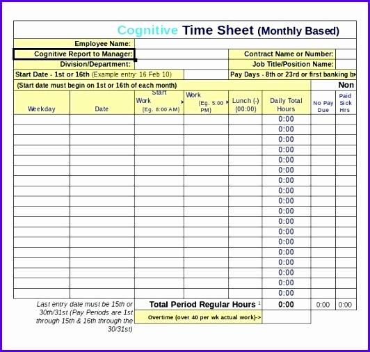 Examples Weekly Excel Template Udikz Fresh Excell Time Sheet Time Sheet Excel Template Excel Timesheet Weekly 585550