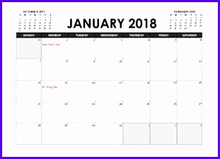 8 yearly calendar template excel exceltemplates