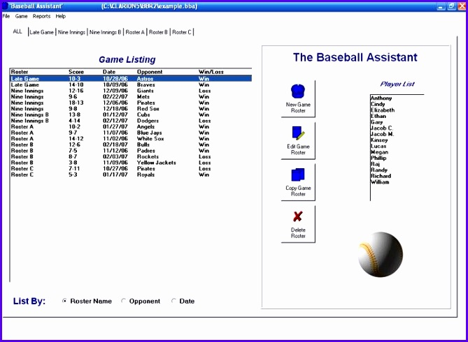 Sample Baseball Lineup Excel Template Fklnr Fresh Baseball Roster