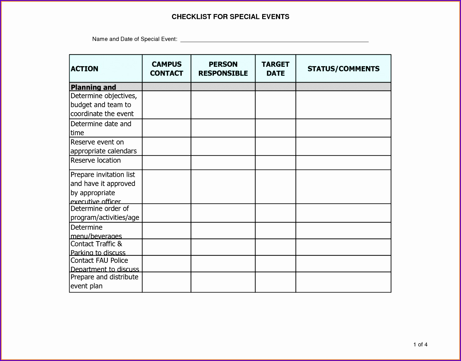 event plan template excel event planning checklist template 15121184