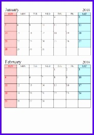 Excel Calendar Template Free Download 185266