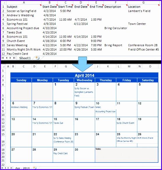 Excel calendar Microsoft Excel Excel calendar Excel extensions 557585