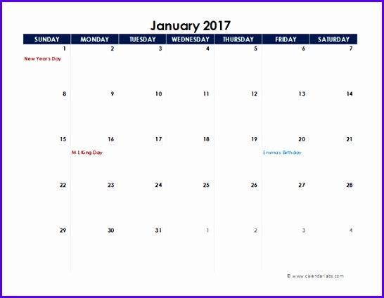 2017 excel calendar spreadsheet template 546424