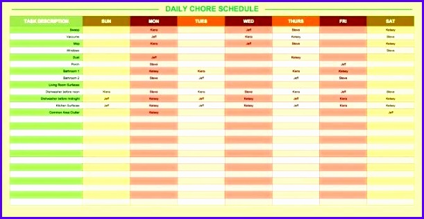 Sample Excel Daily Planner Template Wcavh Best Of Daily Schedule Sheet – Sweet Partnerfo 672343